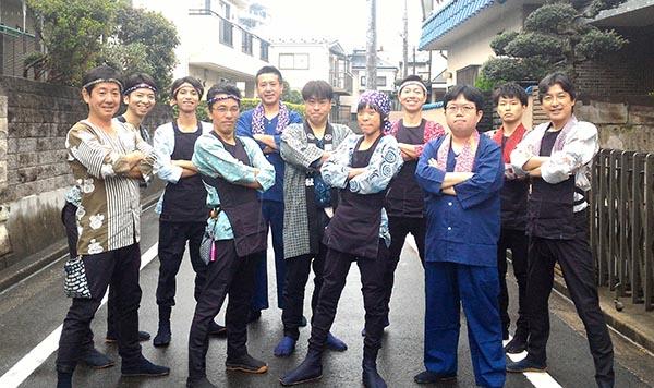 金子厳島神社の例大祭